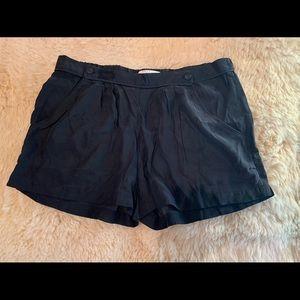 Bella Luxx 100% Silk Black Shorts